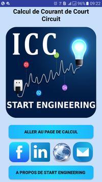 ICC Courant de Court Circuit poster