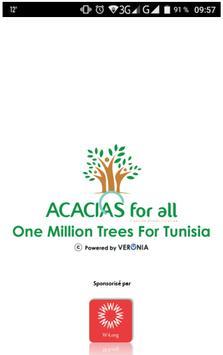 One Million Trees For Tunisia poster