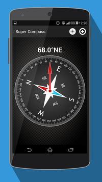 компас на андроид - Compass постер