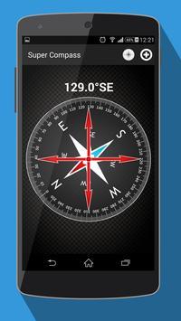 компас на андроид - Compass скриншот 2