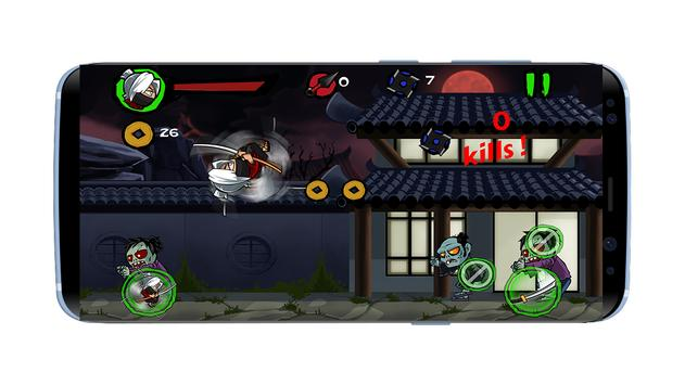 Ninja vs Zombies 2017 screenshot 2