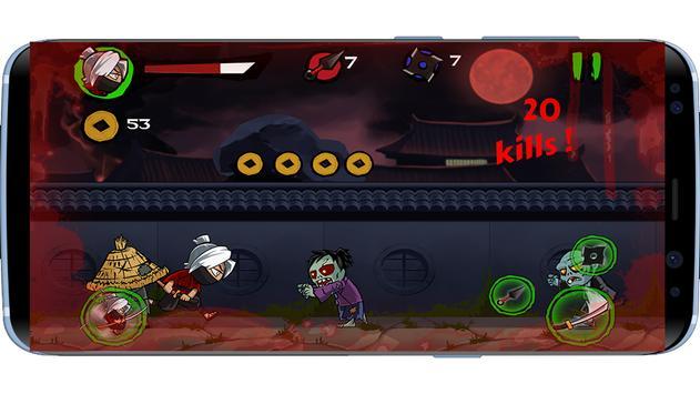 Ninja vs Zombies 2017 screenshot 3