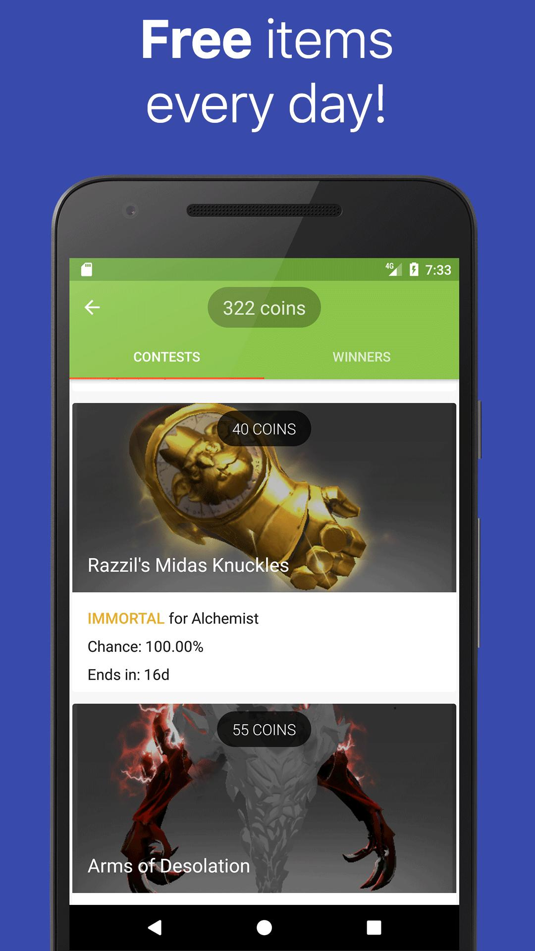 GLDrop for Dota 2: Win items! for Android - APK Download