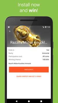 GLDrop for Dota 2: Win items! apk screenshot