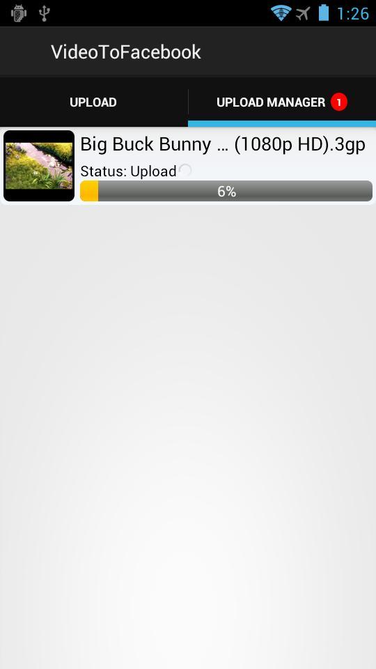 Video Uploader For Facebook for Android - APK Download