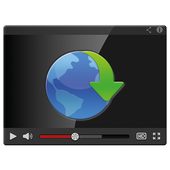 Video Web Download icon