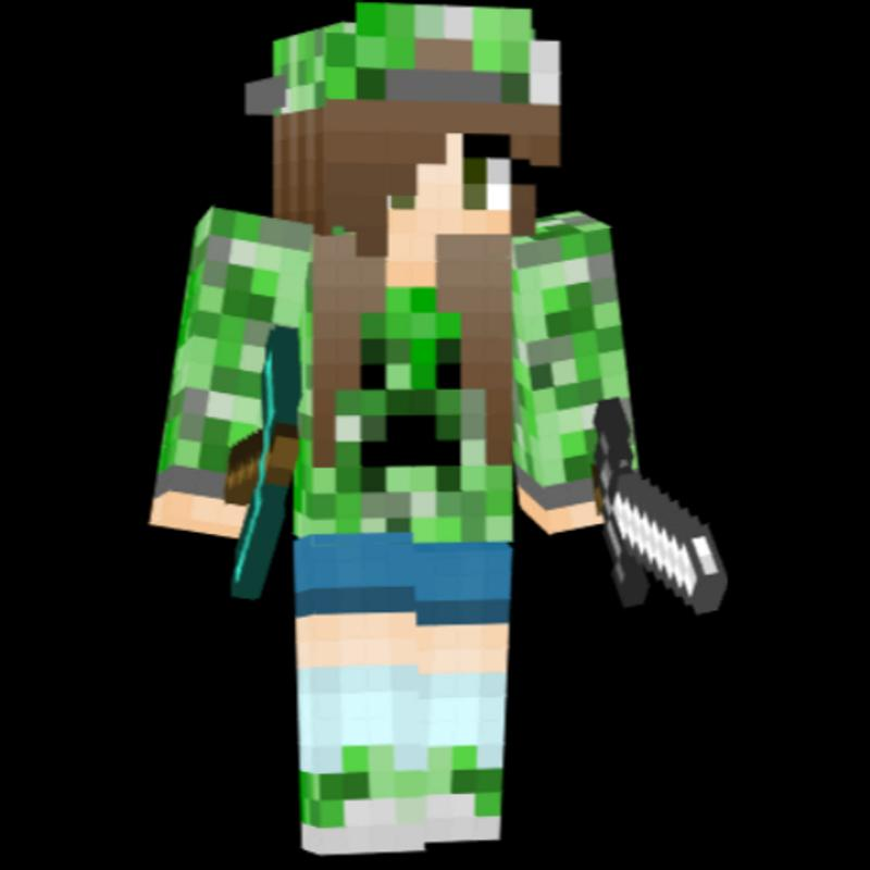 Creeper Girl Skin For MINECRAFT Für Android APK Herunterladen - Skins fur minecraft creeper