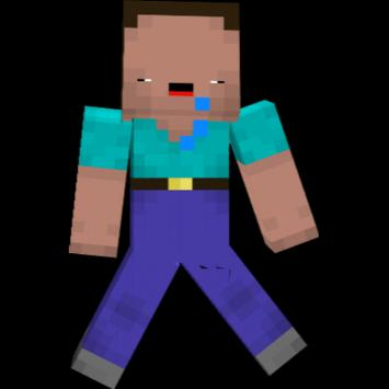 Mr Noob Skin For MINECRAFT 스크린샷 1