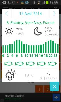 Pêche - Calendrier Solunaire screenshot 3