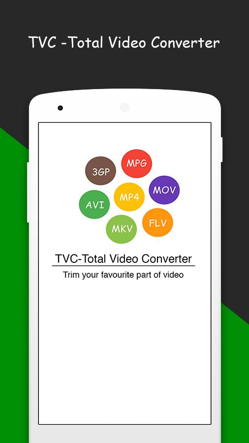 TVC -Total Video Converter for Android - APK Download