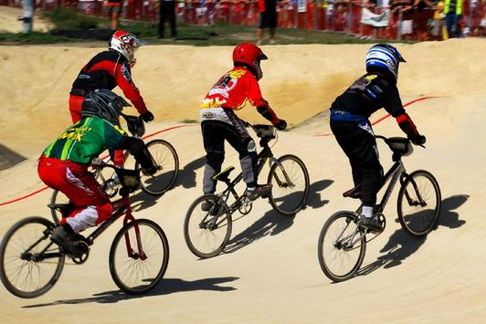 BMX Biking Wallpapers in HD poster
