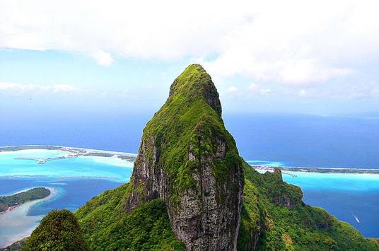 French Polynesia Wallpaper HD poster