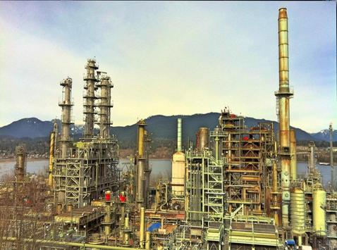 Oil Refinery Wallpapers in HD poster