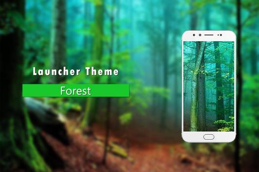 Forest Theme launcher poster