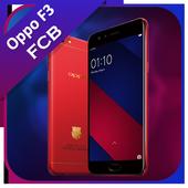 Theme for Oppo F3 FCB icon