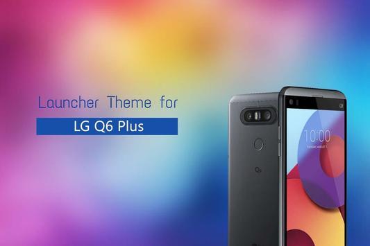 Theme for LG Q6 Plus poster