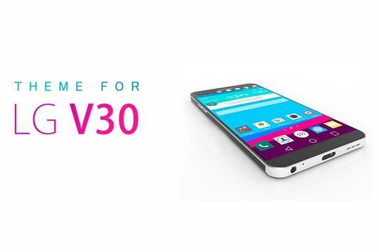 Theme for LG V30 poster