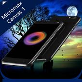 Theme for Micromax Canvas 1 icon