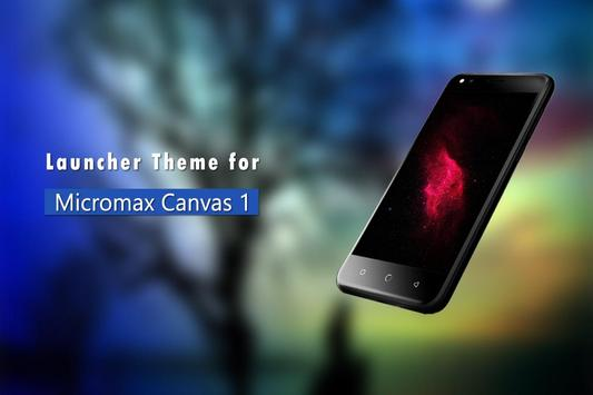 Theme for Micromax Canvas 1 poster