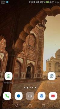 Taaj mahal Theme apk screenshot