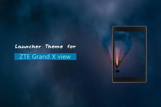 Theme for ZTE Grand X view poster