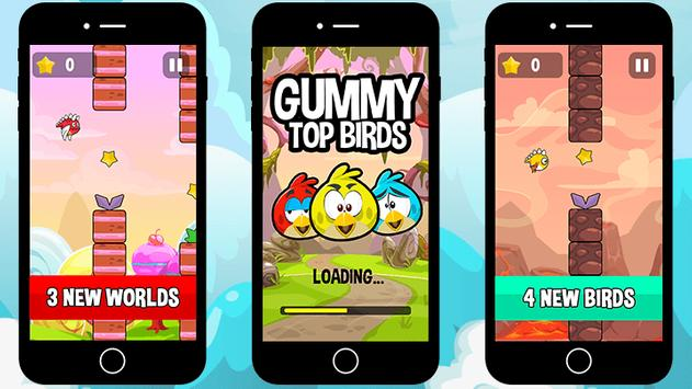 Gummy Top Birds poster