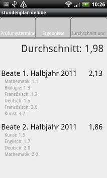 School Schedule Deluxe Retro screenshot 5