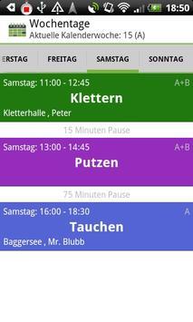 School Schedule Deluxe Retro screenshot 6