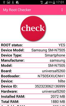 My Root Checker apk screenshot