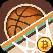 Bitcoin Basketball icon