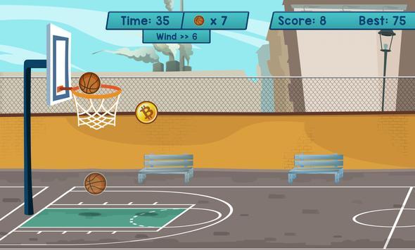 Bitcoin Basketball screenshot 1