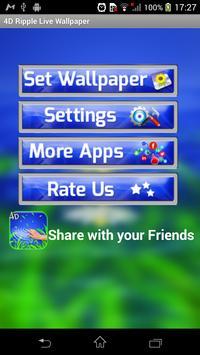 4D Ripple Live Wallpaper screenshot 3