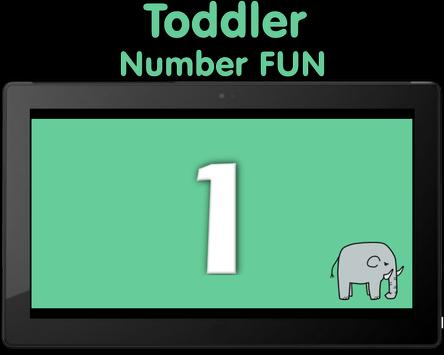 Toddler Number FUN! poster