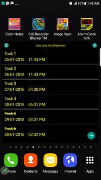 Todo Task List screenshot 3
