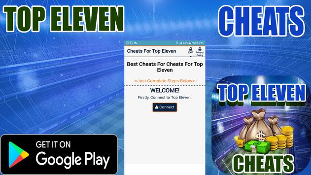 Cheats For Top Eleven Prank poster
