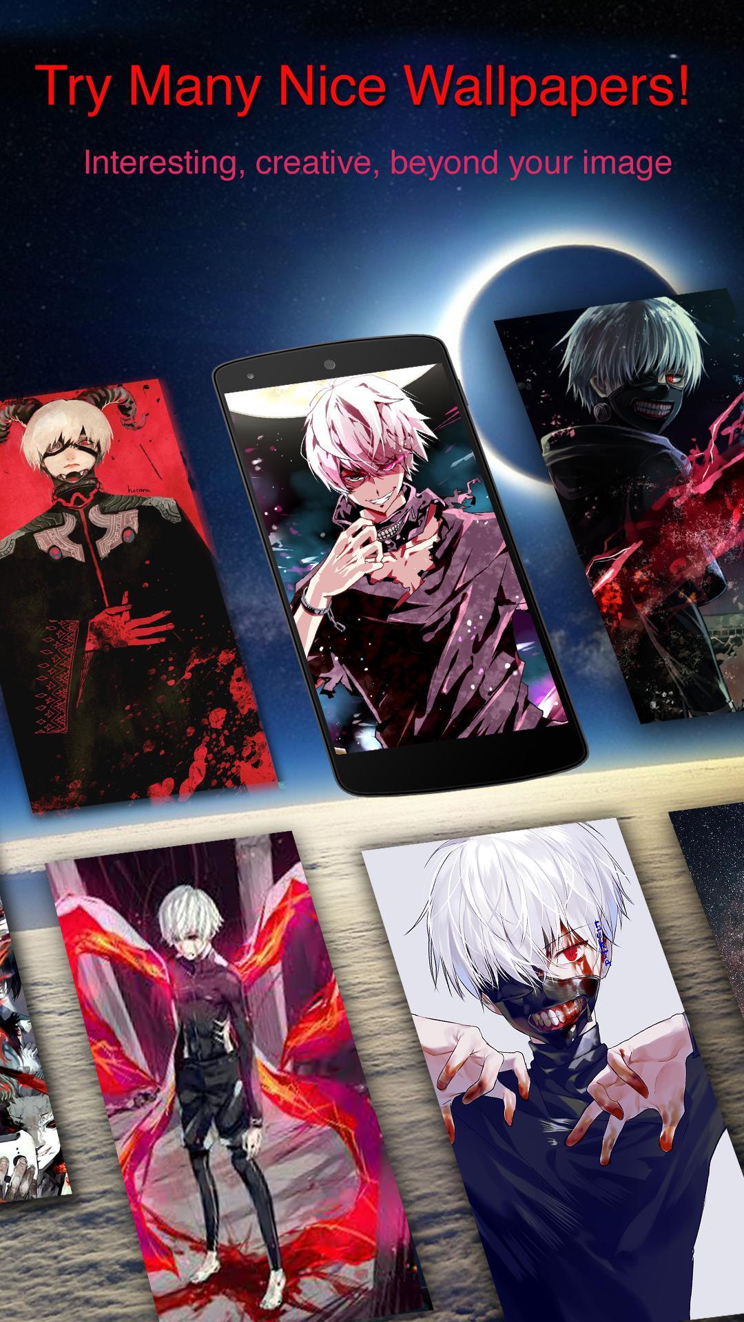 Unduh 8000+ Wallpaper Anime Tokyo Ghoul Keren Untuk Android  Terbaru