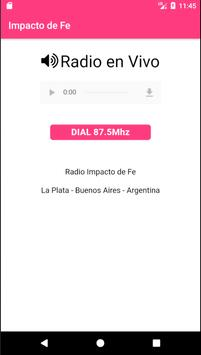 Radio Impacto de Fe screenshot 1