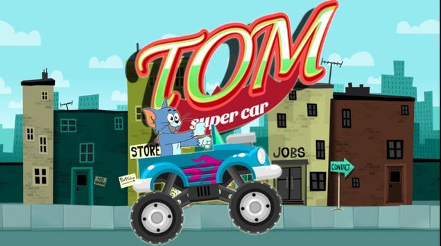 Tom Super Car poster