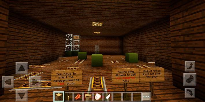 Floor after floor. MCPE map screenshot 3