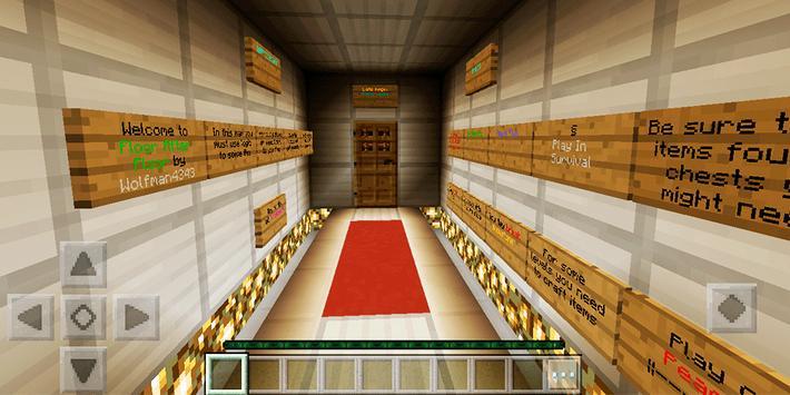 Floor after floor. MCPE map screenshot 14