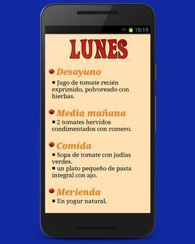 Dieta Del Tomate apk screenshot