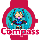 Miku Compass for wear icon