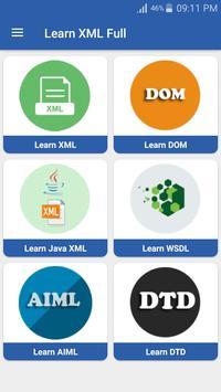 XML Full Tutorial apk screenshot