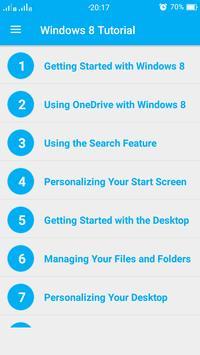Window 8 Tutorial screenshot 4