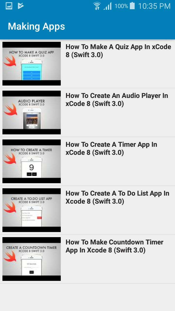Learn iOS with Swift for Android - APK Download