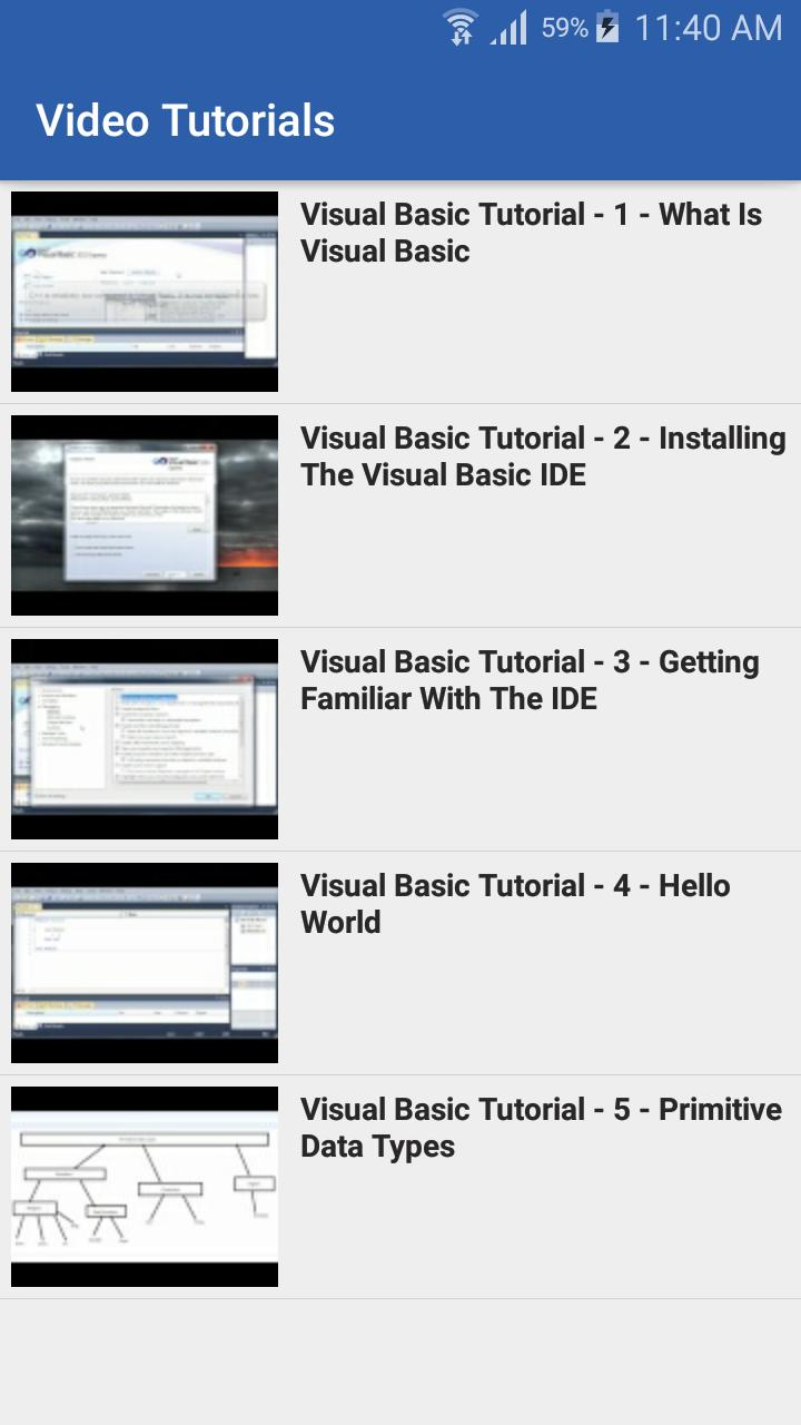 Learn VB Net Programming for Android - APK Download
