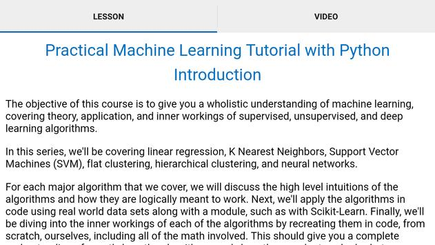 Machine Learning Tutorial for Android - APK Download