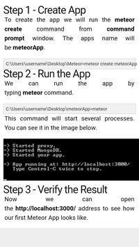 Learn Meteor apk screenshot
