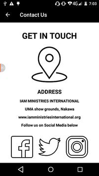 Iam Ministries International App screenshot 6