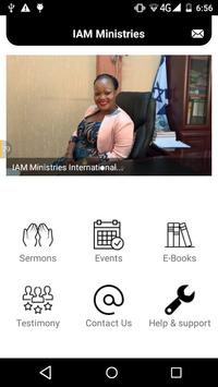 Iam Ministries International App screenshot 1